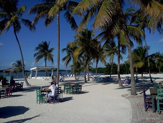 Morada Bay: In front (technically in back) of the restaurant