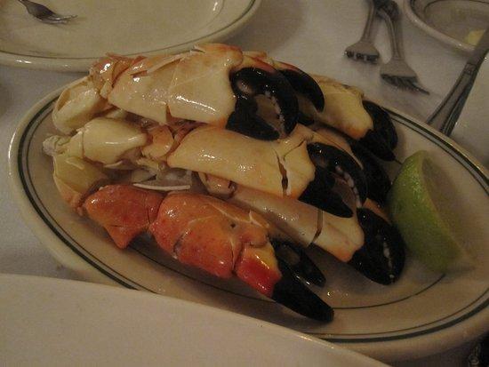Joe's Stone Crab: stone crabs