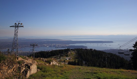North Vancouver, Canada: View from up top