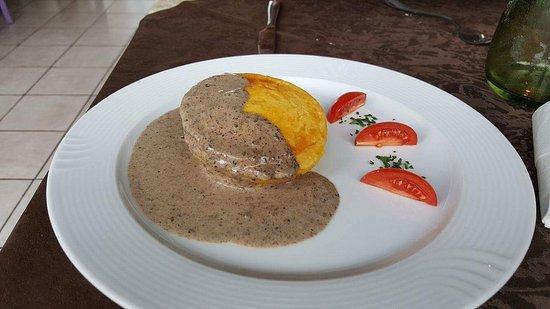 Osteria N.1 San Lazzaro : Flan al tartufo