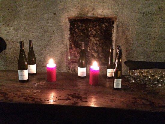 Queenstown Wine Trail: Wine tasting Gibbston Valley Wine Cave