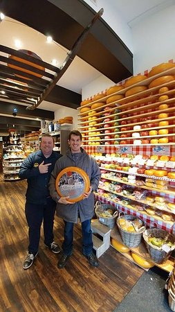 Gouda, The Netherlands: The owner and Me