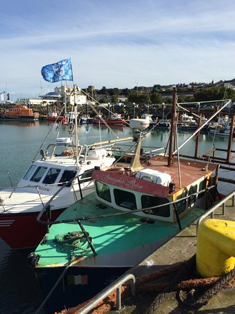 Howth, ไอร์แลนด์: port