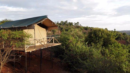 Karatu, Tanzania: nice view from our tent