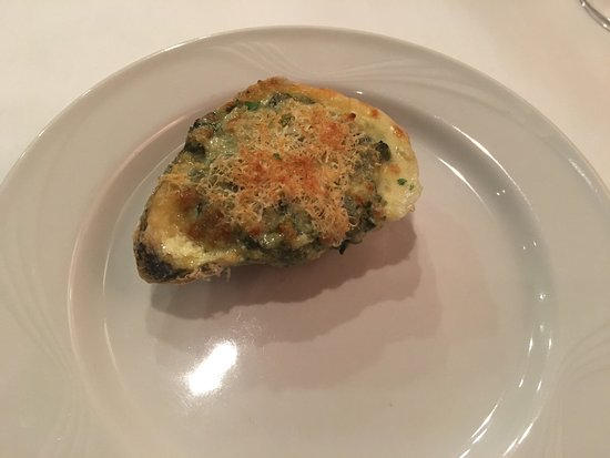 Boerne, Teksas: Lovely wine and oysters Rockefeller
