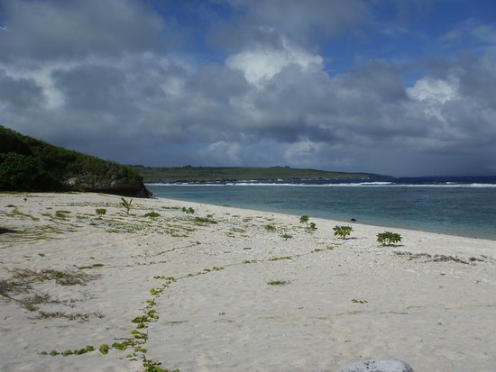 Tinian, Mariana Islands: Dunkalu Beach