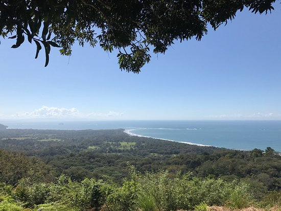 Uvita, Costa Rica: One of our stops during the 4x4 tour to view the Whales Tail.