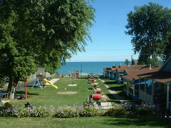 Lexington, Μίσιγκαν: Cottages, Grounds and Lake Huron