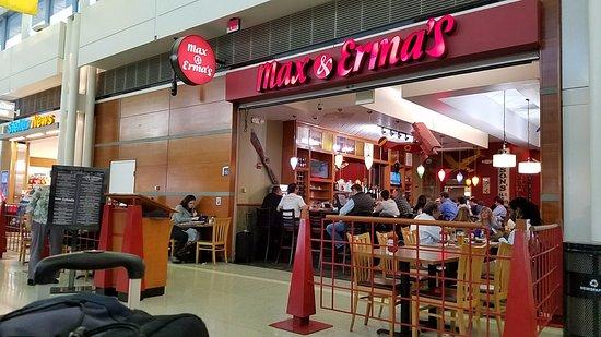 Dulles, VA: Max & Ermas - Terminal B across from B72