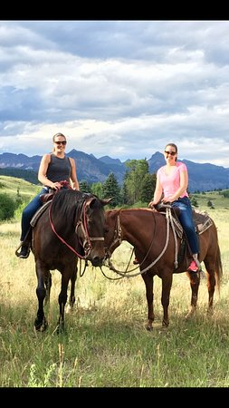 Pagosa Springs, CO: Book horseback rides and experience the trails of the San Juan Nat'l Forest & Weminuche Wilderne