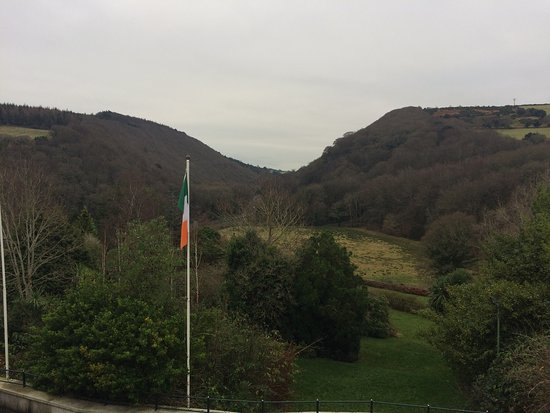 Glen Of The Downs, Ireland: View from our hotel room