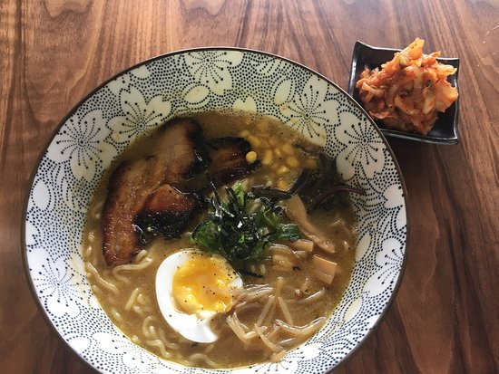 Vancouver, WA: My So Soy ramen and Ahi poke appetizer, delicious and ample!