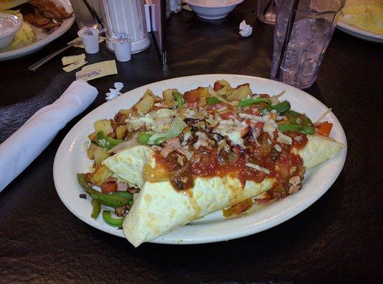 Dillard, GA: Burrito de Huevos.
