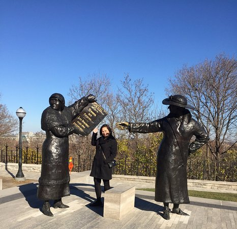 Ottawa, Kanada: Women Are Persons!