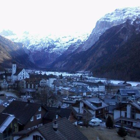 Rigi Kaltbad, Suiza: Vista do quarto. Maravilhosa.