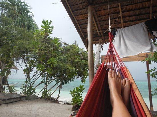 hammock with a view view from the hammock picture of daroyen village raja ampat