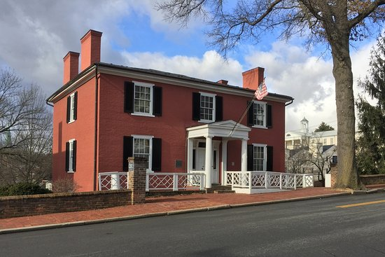 Staunton, Virginie : Birthplace of Woodrow Wilson