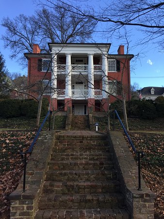 Staunton, VA: Back of house from parking lot
