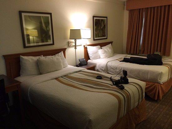 La Porte, TX: Double queen bed room