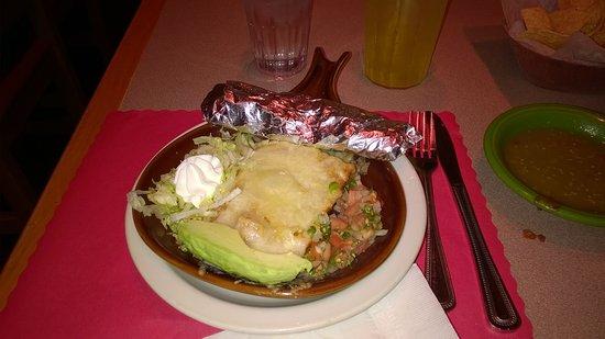 El Azteca Restaurant and Tequila Bar: chicken