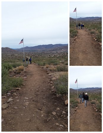 Yarnell, AZ: That flag is the straw that broke the camel's back for most of us.