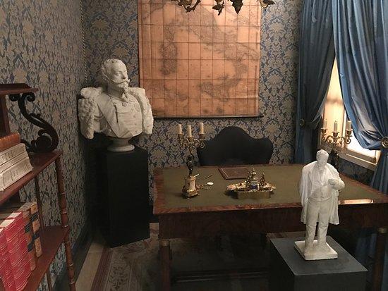 Museo Nazionale del Risorgimento: Lo studio di Camillo Benso