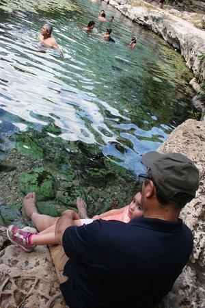 Dzibilchaltun Ruins: The refreshing water