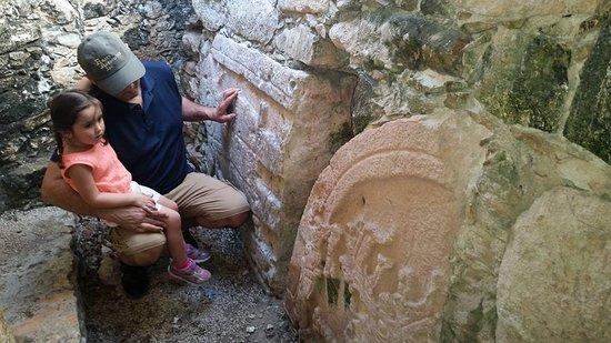 Dzibilchaltun Ruins: Mayan graphics