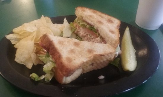 Baxley, Georgien: turkey sandwich