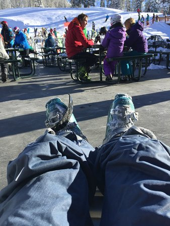 Grand Targhee Ski Resort: Chillaxing! Don't come! Too crowded! Stay away!! lol