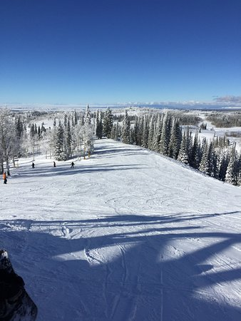 Grand Targhee Ski Resort: Teton Vally, so pretty!
