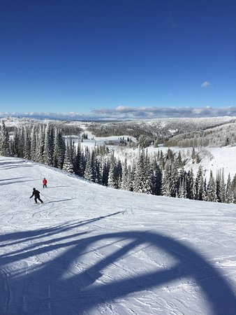 Grand Targhee Ski Resort: Beginners! Go home! Ski Big!
