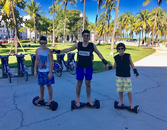 South Beach Hoverboard Rentals