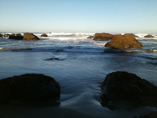 Fort Bragg, CA: The beach at Pudding Creek