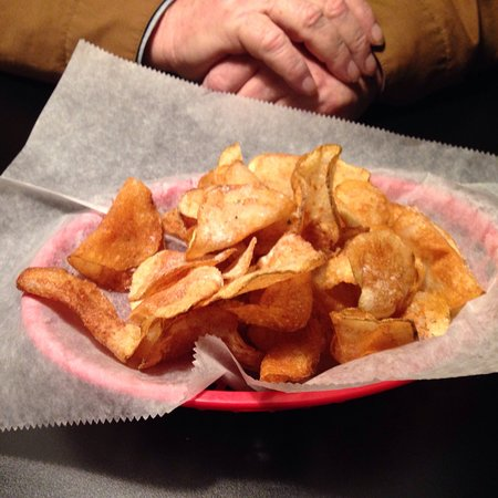 Kent, OH: Homemade chips are the best!!!