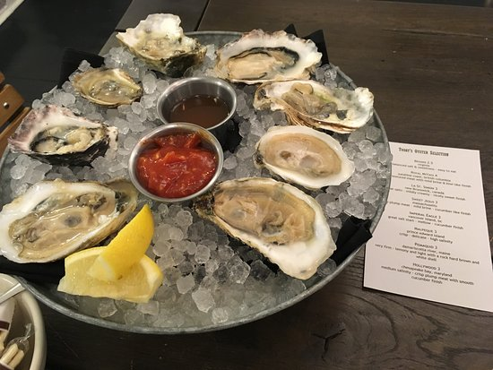 Lafayette, IN: Every oyster on the menu