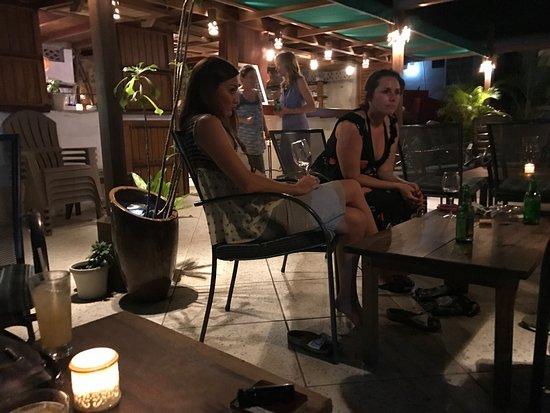 Port Elizabeth, Bequia: Best patio dining & tapas , ocean side