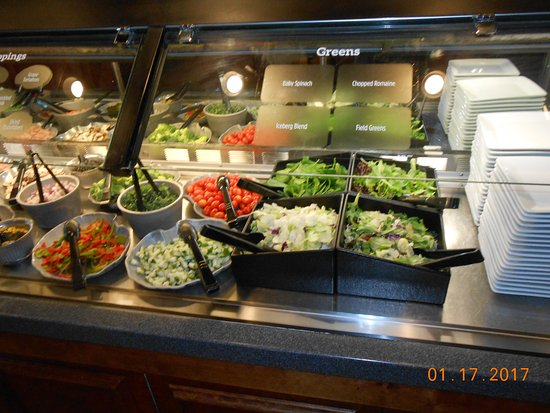 Ruby Tuesday: salad