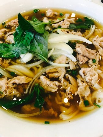 Sydney Olympic Park, Australia: Beef pho - ordinary at best $11.50