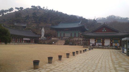 Gongju, Corea del Sur: temple