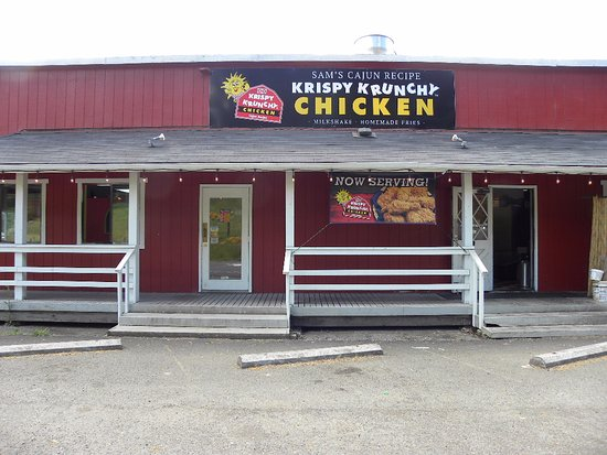 Mill City, OR: Hand breaded fresh Chicken cook to oder.