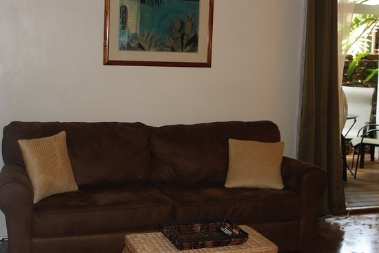 Andrews Inn and Garden Cottages: Malaga Sitting Area