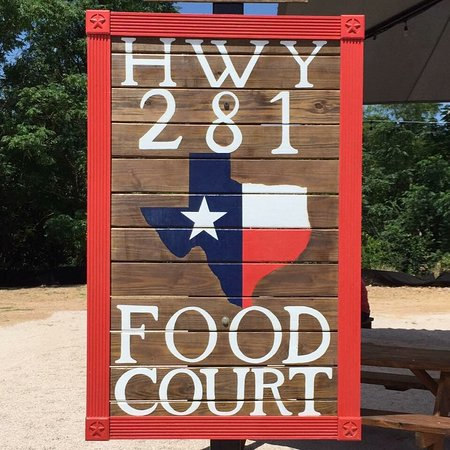 Marble Falls, TX: Highway 281 Food Court