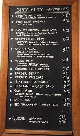 Garberville, แคลิฟอร์เนีย: Calico's Deli & Pasta
