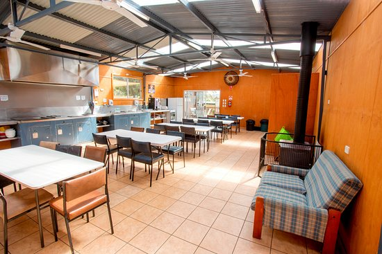 St Helens, Australien: Our spacious and well equipped camp kitchen