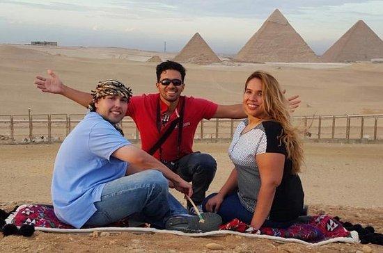 プライベートカイロシティツアー:ギザピラミッド、エジプト博物館、カーンカリリ…