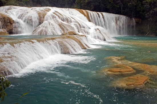 Agua Azul and Misolha Waterfalls Tour