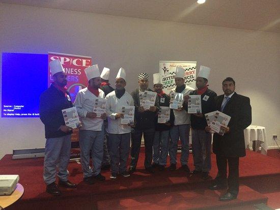 Heywood, UK: Culinary Skills Fair