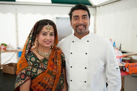 Heywood, UK: Chef Farooq Ahmed & Shefali