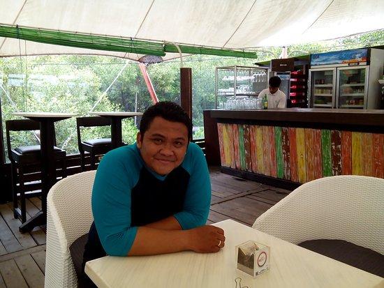 BeeJay Bakau Resort Restaurant: Resto Tenda BJBR